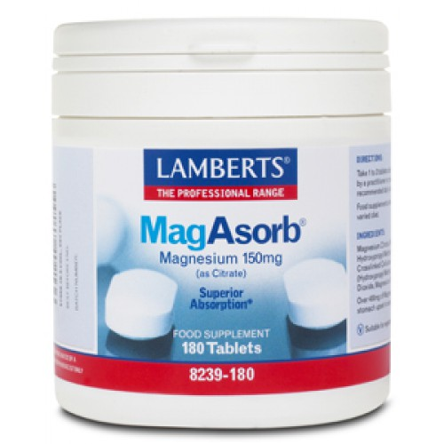 MagAsorb 150mg 180t