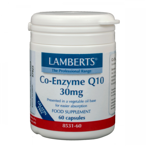 Co-enzyme Q10 30mg 60vc