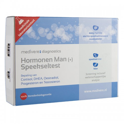 Hormonen man plus speekseltest, Medivere, 1st
