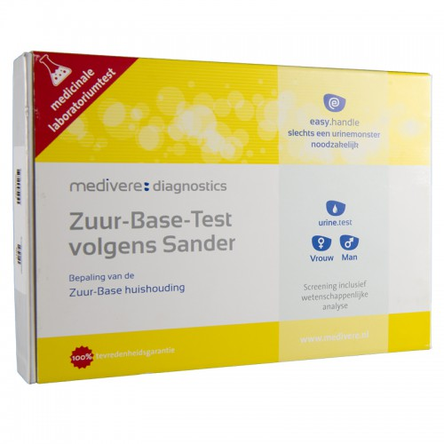 Zuur-base test urinetest, Medivere, 1 st