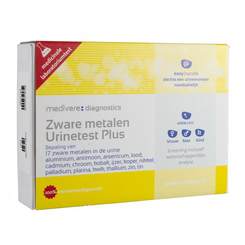 Zware metalen urinetest Plus